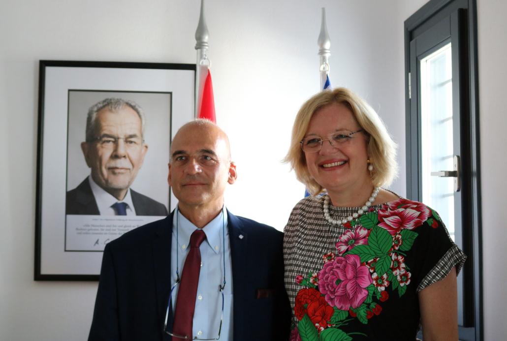 Ambassadeur d'Autriche & Ioannis Andreopoulos