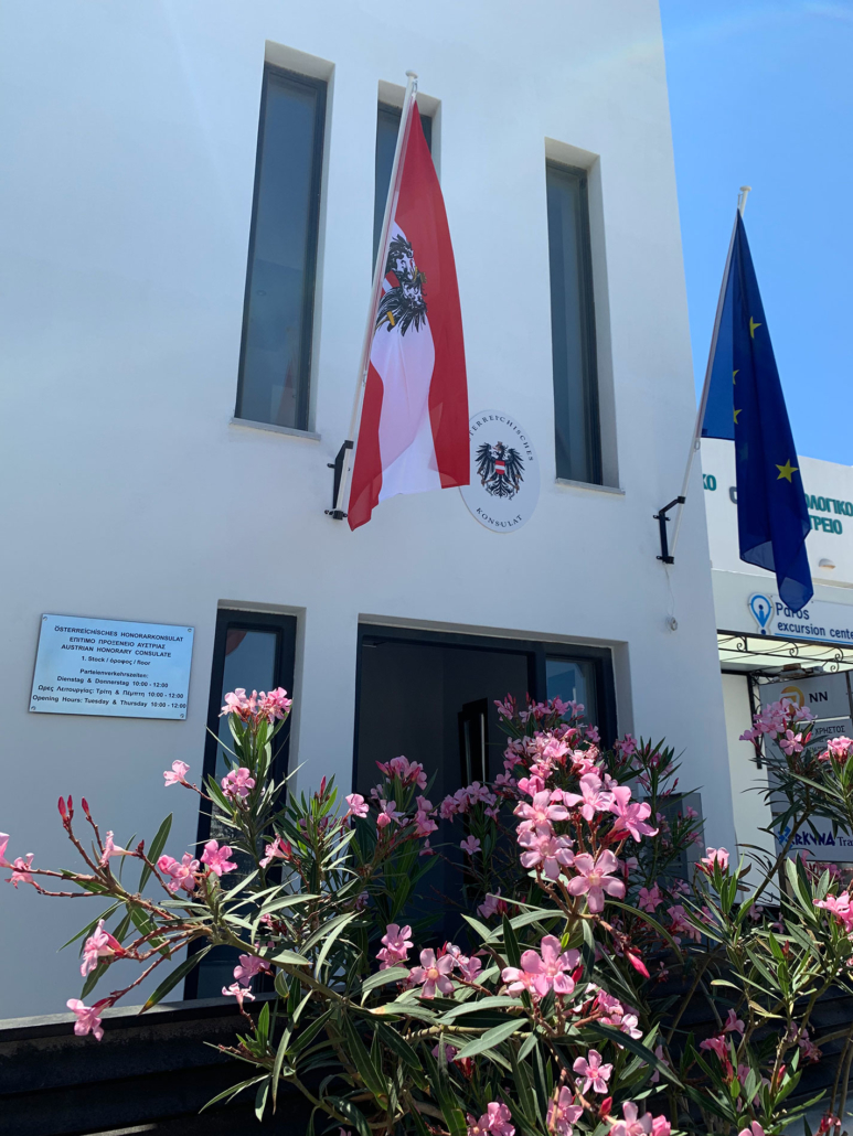 Consulat d'Autriche Paros Cyclades