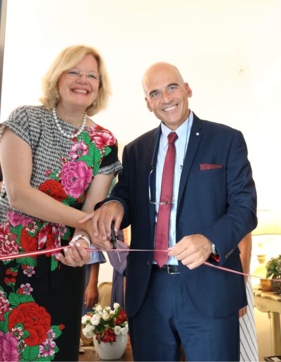 Einweihung des Konsulats von Österreich in Paros